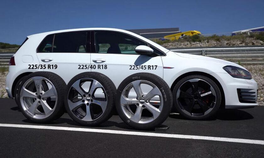 Ποιοι τροχοί είναι καλύτεροι για σπορ οδήγηση; 17, 18 ή 19 ιντσών; (+video)