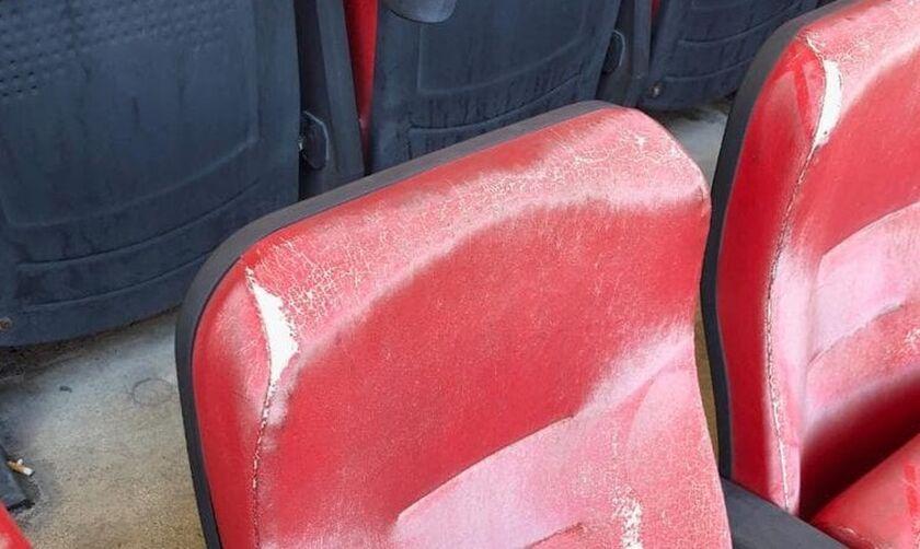 Καραϊσκάκη: Ολοκληρώθηκε η ανακατασκευή των VIP καθισμάτων! (pics)