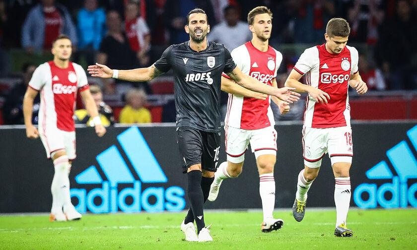 Στα πλέι οφ του Champions League o Άγιαξ, 3-2 τον ΠΑΟΚ