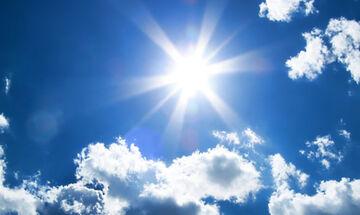 Καιρός: Αίθριος με υψηλές θερμοκρασίες