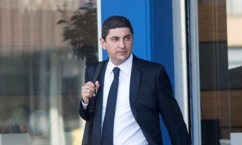 Αυγενάκης: Συναντήθηκε με τον πρόεδρο της UEFA, Τσέφεριν