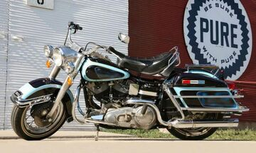 Στο σφυρί η μοτοσυκλέτα του Elvis Presley!