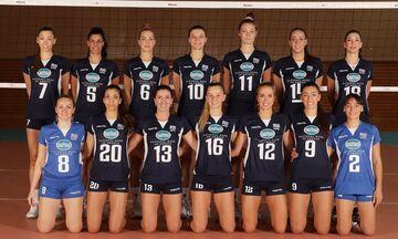 Savaria Cup: Ήττα της Εθνικής γυναικών από την Γαλλία με 3-1 σετ