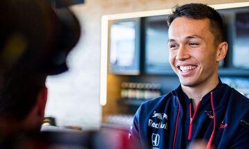 Άλμπον: «Τεράστια ευκαιρία για εμένα η Red Bull»