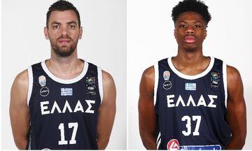 Εθνική Μπάσκετ: «Κόπηκαν» οι Κ. Αντετοκούνμπο και Μάντζαρης