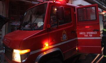 Φωτιά σε περιοχή της Ζακύνθου