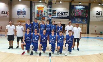 Νίκη της Εθνικής Παμπαίδων επί της Ισπανίας με 71-67