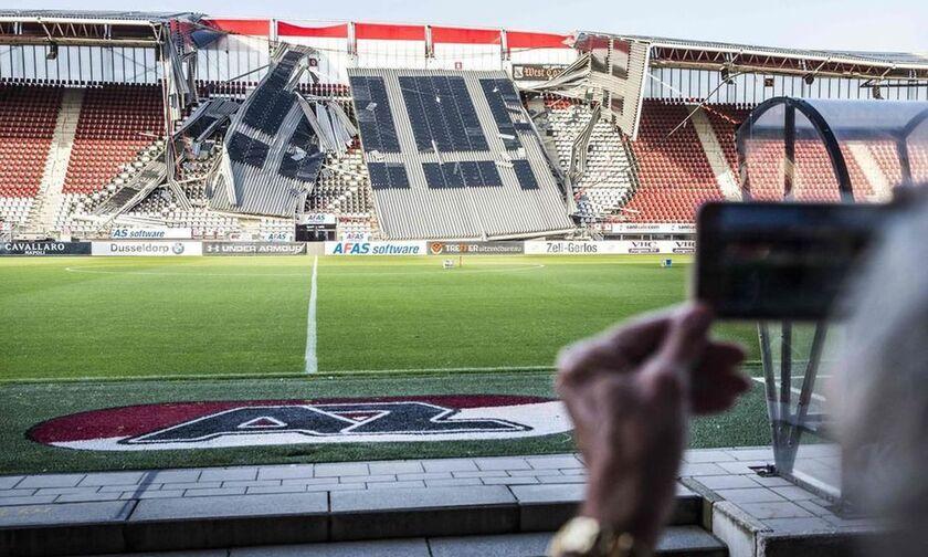 Τι λέει το πόρισμα για την κατάρρευση του στεγάστρου στο γήπεδο της Άλκμααρ
