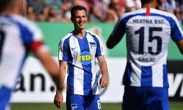 Μπάγερν Μονάχου-Χέρτα: Τα δύο γκολ των φιλοξενούμενων για το 1-2 (vid)