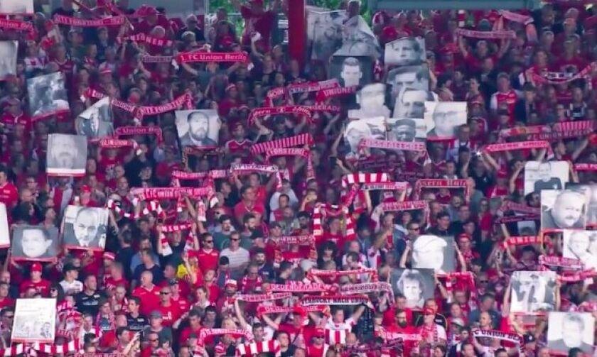 Συγκλονιστικό: Οι οπαδοί της Ουνιόν Βερολίνου έφεραν στο γήπεδο και τους... νεκρούς (vid)