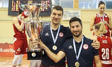 Παντελάκης: «Στόχος του Ολυμπιακού η κορυφή και το αήττητο»