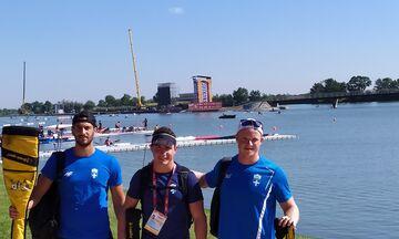 Κανόε Καγιάκ: Με τρεις αθλητές στο Παγκόσμιο της Ουγγαρίας