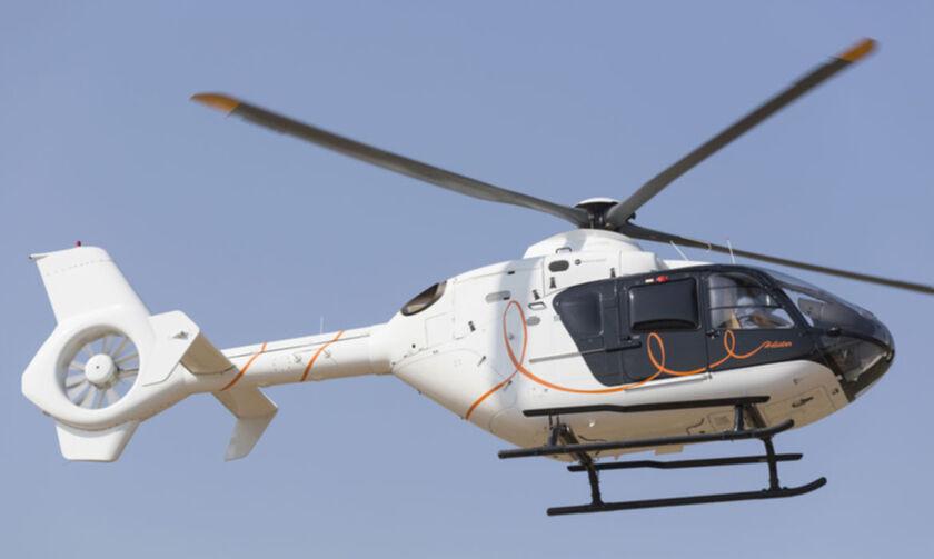ΕΚΤΑΚΤΟ: Κατέπεσε ελικόπτερο στον Πόρο (pic+vid)