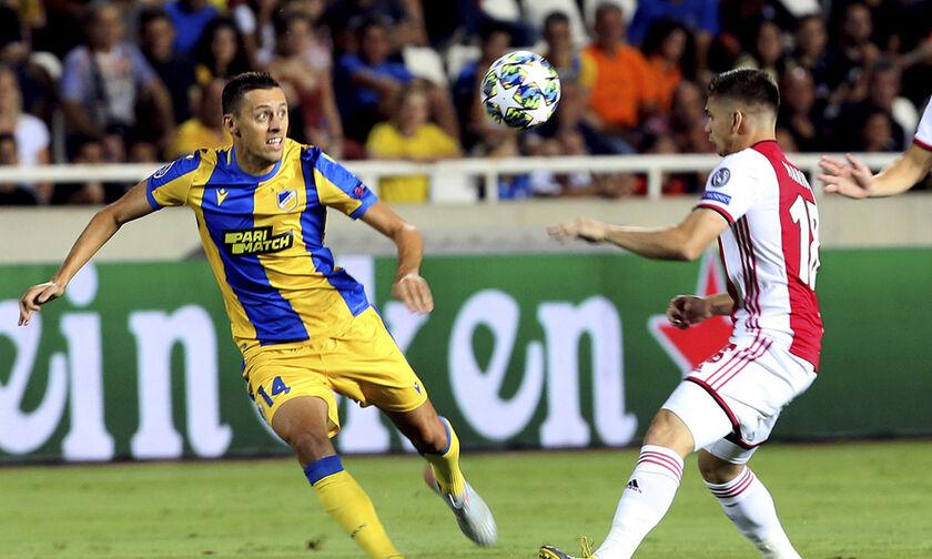 ΑΠΟΕΛ - Άγιαξ 0-0: Η τύχη με το μέρος των Ολλανδών (highlights)