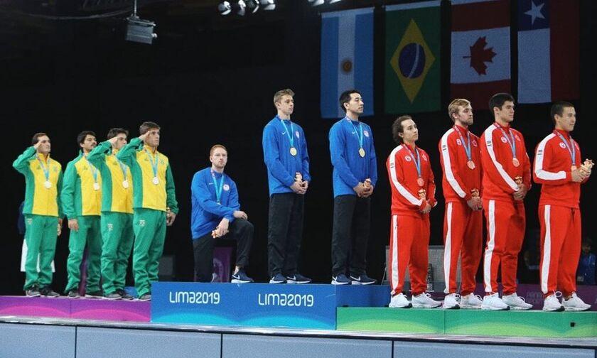 Αθλητές εναντίον Ντόναλντ Τραμπ στους Παναμερικανικούς Αγώνες της Λίμα!