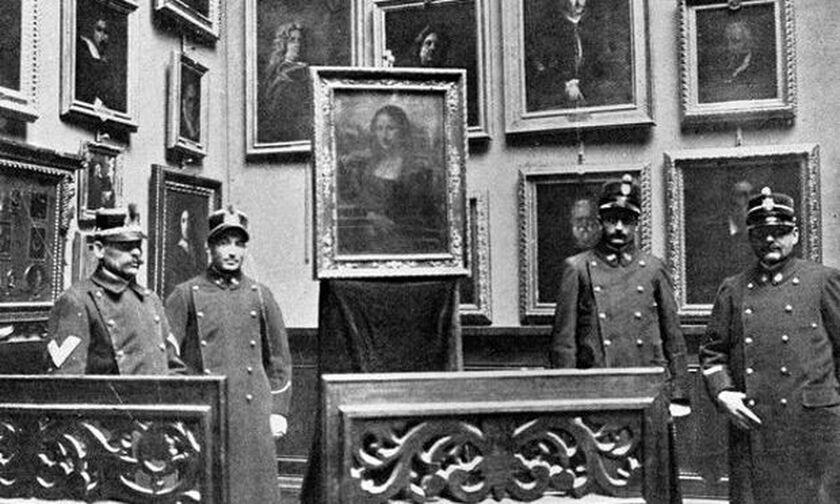21/8/1911: Η κλοπή της «Μόνα Λίζα»