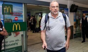 Σκουρτόπουλος για Σλούκα: «Θα ταξιδέψει στην Κίνα»