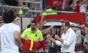 «Τρελάθηκε» ο Μαρτίνς στο γκολ του Γκερέρο (pics)