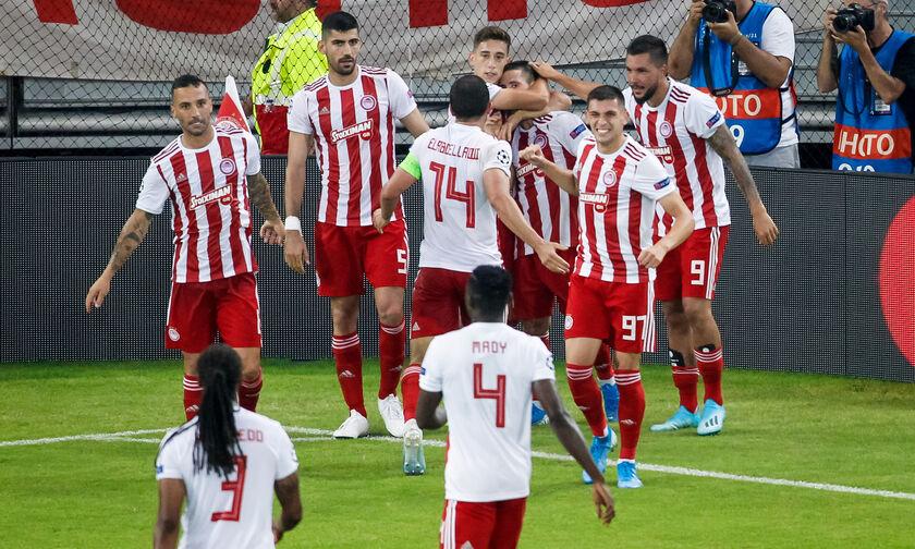 Σερί 11-0 γκολ οι ερυθρόλευκοι στο Champions League 2019-20