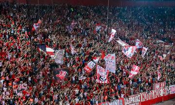 Οι οπαδοί του Ολυμπιακού «σκέπασαν» με τη φωνή τους τον ύμνο του Champions League (vid)