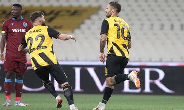 ΑΕΚ - Τραμπζονσπόρ: Το γκολ του Λιβάγια για το 1-0 (vid)