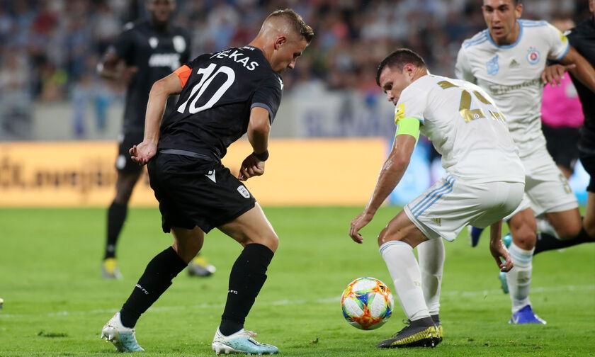 Σλόβαν Πρατισλάβας - ΠΑΟΚ 1-0: Προβάδισμα πρόκρισης στο 90' οι Σλοβάκοι (vid)