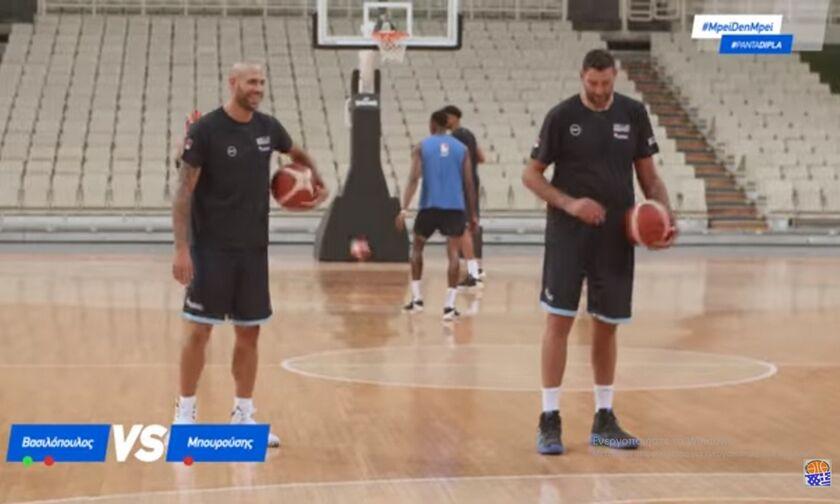 Mπουρούσης vs Βασιλόπουλος και Παπανικολάου vs Παπαπέτρου (vid)