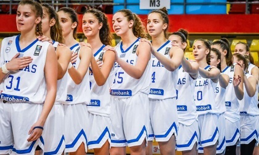 EuroBasket U16: Ήττα της Εθνικής Κορασίδων από την Τσεχία με 58-47