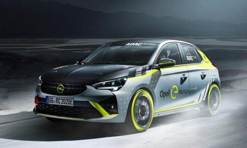 Νέο Opel Corsa-e έτοιμο για αγώνες ράλι!