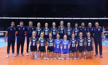 Ευρωπαϊκό Πρωτάθλημα Βόλεϊ: Ξεκίνημα με ήττα για την Εθνική γυναικών