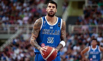 Ελλάδα - Ιορδανία 92-65: Με κορυφαίο τον Πρίντεζη
