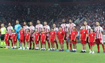 Ολυμπιακός - Αστέρας Τρίπολης: Με έξι αλλαγές η ενδεκάδα