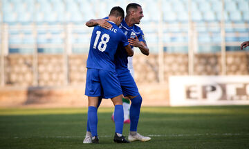 Λαμία - Παναθηναϊκός: Το γκολ του Ρόμανιτς για το 1-0 (vid)