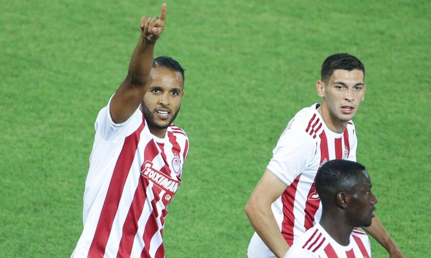 Oλυμπιακός - Αστέρας Τρίπολης: Το γκολ του Eλ Αραμπί με πέναλτι (vid)