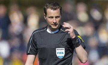 Europa League: Ο Έκπεργκ σφυρίζει στην Τούμπα