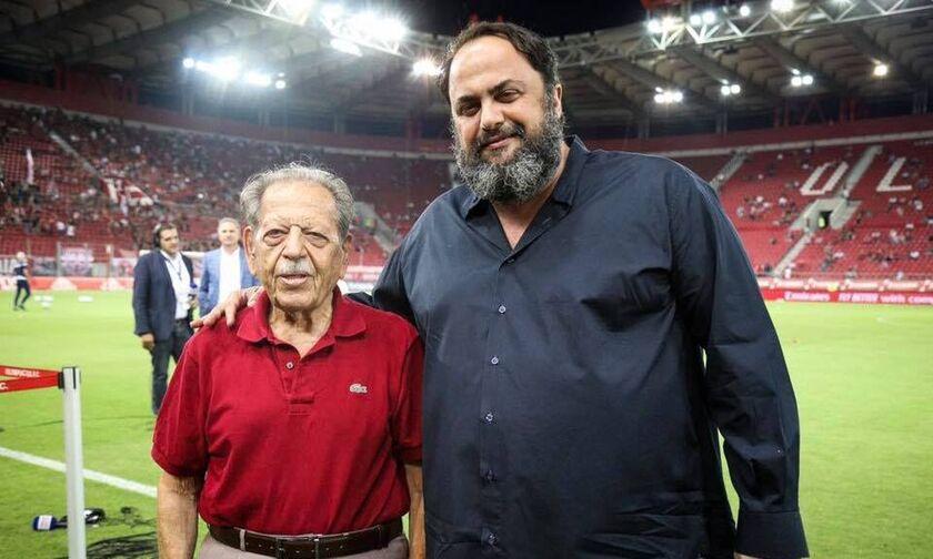 Μαρινάκης: «Μαζί θα γιορτάσουμε τα επόμενα 10 πρωταθλήματα»