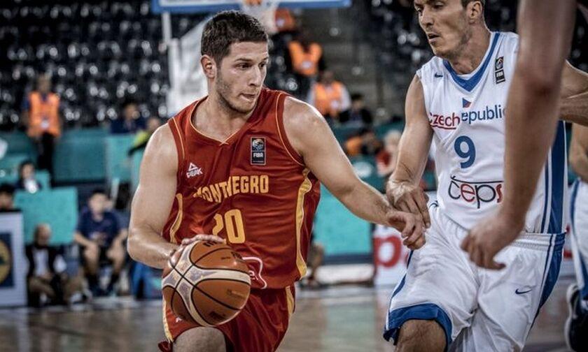 Μουντομπάσκετ-Μαυροβούνιο: Διάστρεμμα ο Ιβάνοβιτς, αμφίβολος ενόψει Ελλάδας