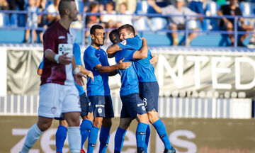 Ατρόμητος - ΑΕΛ: Το απίθανο γκολ του Νάτσου για το 1-0 (vid)