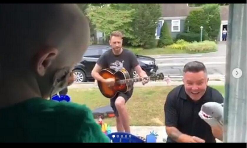 Dropkick Murphys: Έπαιξαν μουσική στο σπίτι τρίχρονου καρκινοπαθή!