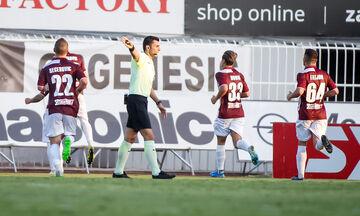 Ατρόμητος - ΑΕΛ: Η ισοφάριση του Μιλοσάβλιεβιτς σε 1-1 (vid)