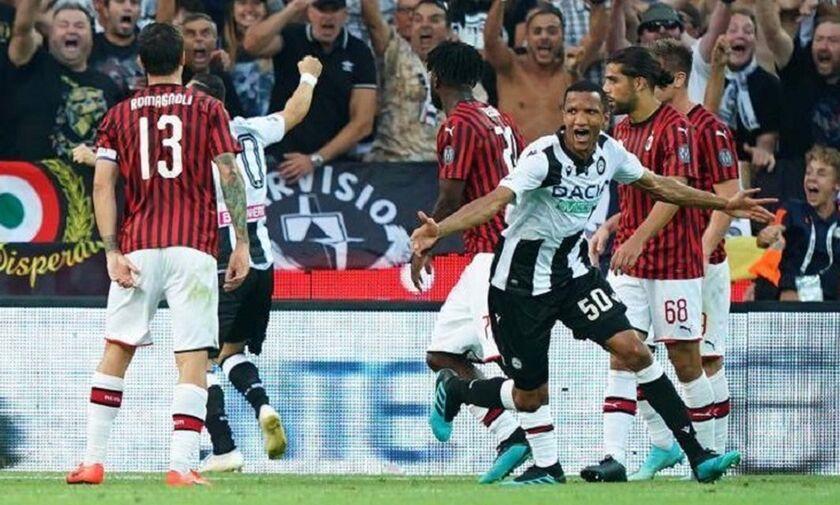 Serie A: Στραβοπάτημα στο πρώτο σκαλοπάτι για τη Μίλαν (highlights)