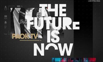 ΠΑΟΚ: Στο PAOK TV ο επαναληπτικός με τη Σλόβαν!