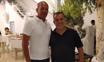 Ο Γιώργος Αγγελόπουλος στη Νάξο