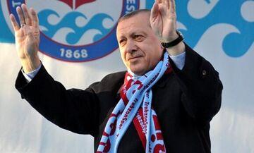 Ευχές του Ερντογάν για πρόκριση της Τραμπζονσπόρ επί της ΑΕΚ (vid)