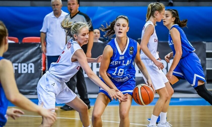 Ευρωπαϊκό U16: Δανία-Ελλάδα 44-89 - Με σερί 36-0!