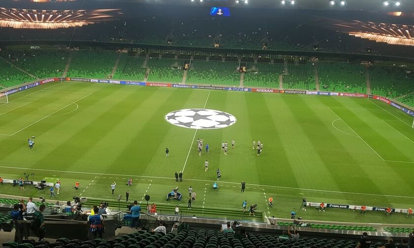 Το εντυπωσιακό γήπεδο της Κράσνονταρ (vid)