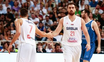 Mundobasket 2019: Η Σερβία νίκησε την Γαλλία και τέλειωσε αήττητη τα φιλικά της