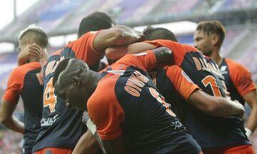 Ligue 1: Η Μονπελιέ σταμάτησε 1-0 τη Λιόν