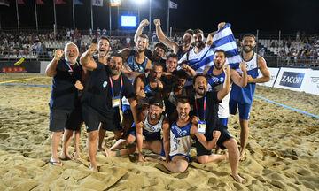 Δεύτεροι Παράκτιοι Μεσογειακοί Αγώνες: «Χρυσή» η Εθνική Ανδρών και Γυναικών (vid)