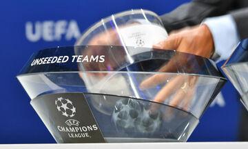 LIVE Blog: H κλήρωση του Champions League (19:00)